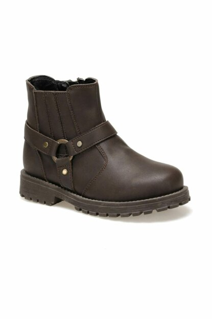 DUBOISI.19W Brown Boots for Boys 000000000100414593