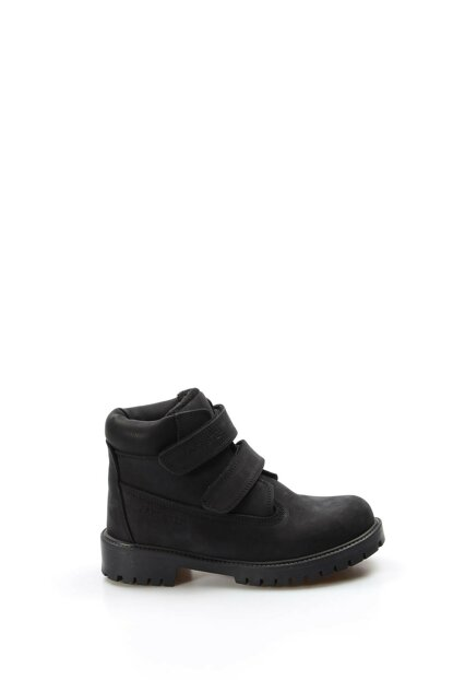 Genuine Leather Black Boys Boots & Bootie 1875710