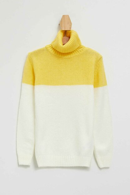 Turtleneck Sweater Pullover L3870A6.19WN.YL320
