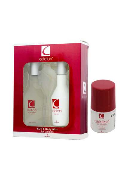 Edt 100ml + 100ml Body Spray + 50ml Roll-on Women Perfume Set 86909735072802