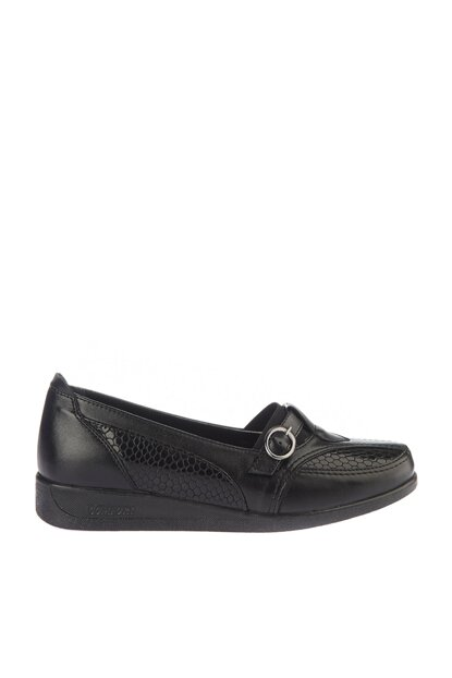 Black Women Loafer Shoes 01AYY162260A100