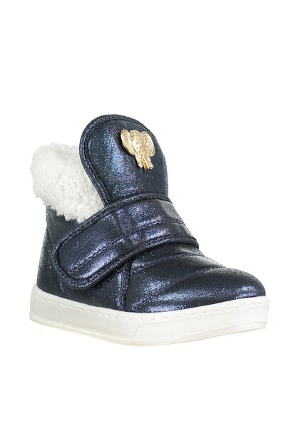 Navy Blue Children Boots KL-B-101> 19K