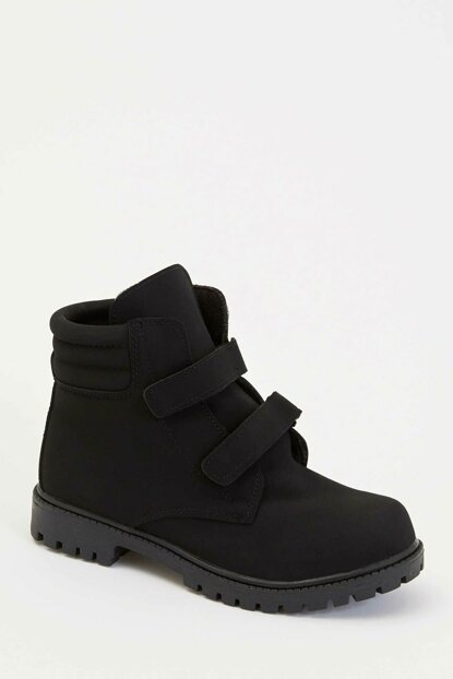 Basic Boots with Velcro M1604A6.19AU.BK23