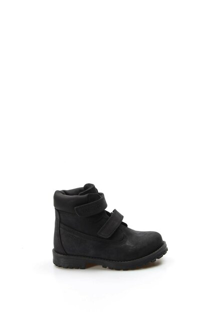 Genuine Leather Black Boys Boots & Bootie 1875723