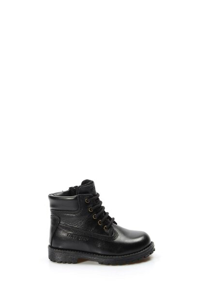 Genuine Leather Black Boys Boots & Bootie 1875737
