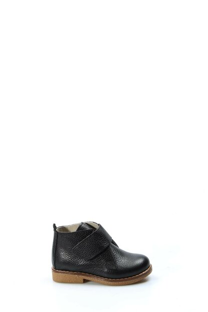 Genuine Leather Black Boy Boots & Bootie 1875770