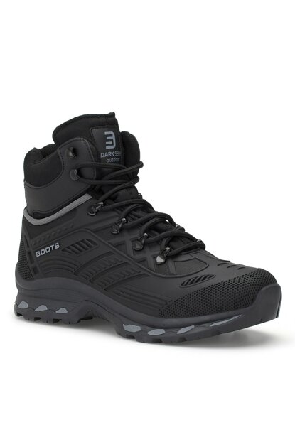 Black Unisex Outdoor Trekking Boots DS.1822