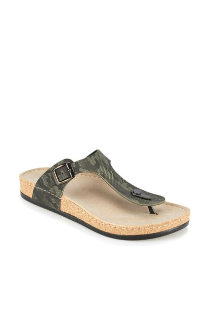 Khaki Men's Slippers GUSTO
