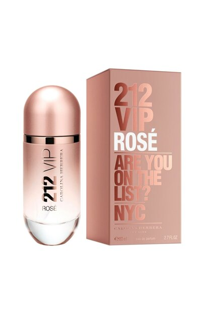 212 Vip Rose Edp 80 ml Perfume & Women's Fragrance 8411061777176