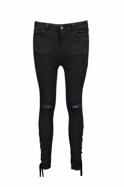 Women's Black Trousers - UCB021597A41