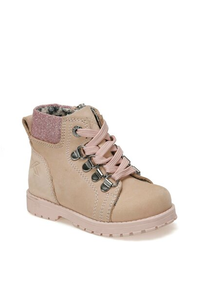 SARDONE LEATHER 9PR Pink Girls Boots