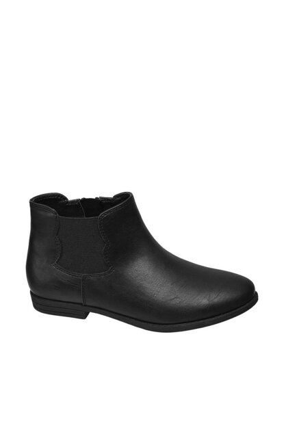 Deichmann Child Black Boots 15001000