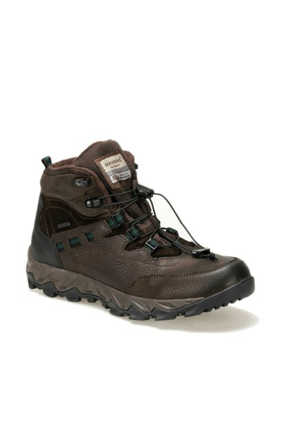 Men's Genuine Leather Brown Boots 000000000100328730