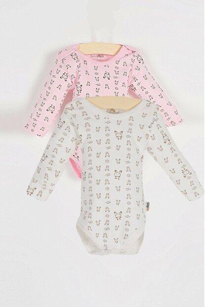 Y-London Baby Girl Badi Set of 2 BBTOO-BDY108