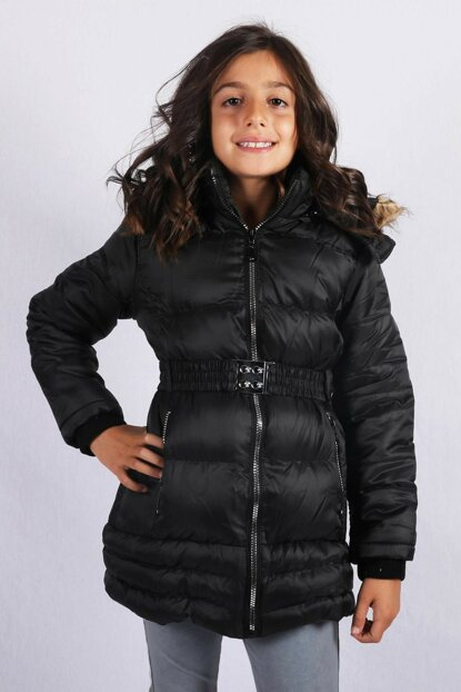 Kids Club 3--14 Age Girls Children Coats Coats Navy Blue Color kds45125