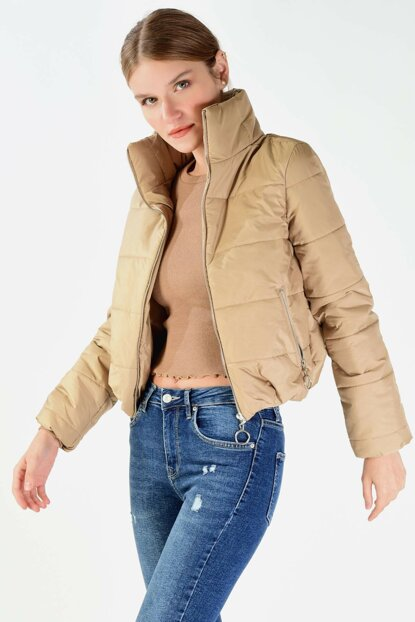 Women's Stone Inflatable Coat M21-5232- C13 ADX-0000019642