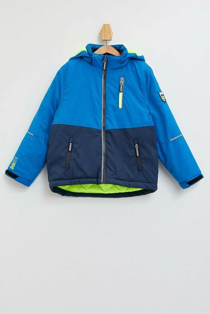 Color Block Ski Jacket L7182A6.19WN.BE411