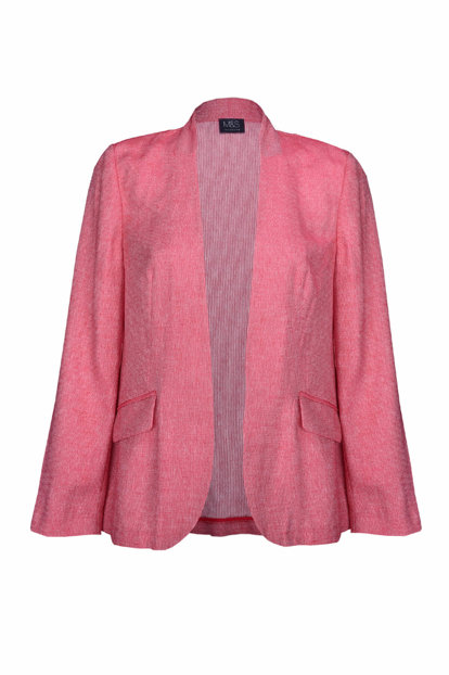 Women's Pink Relaxed Fit Jacket T59000505X T59000505X