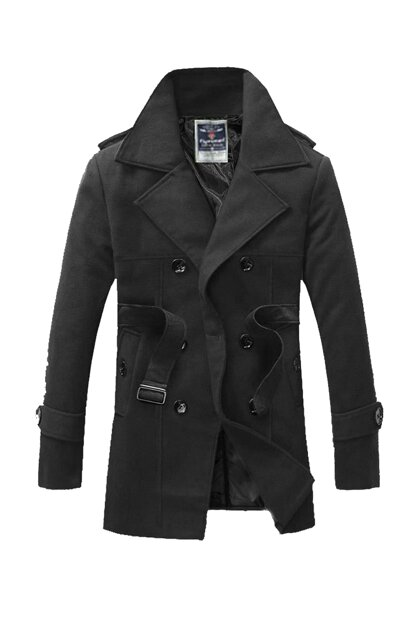 Slim Fit Italian Cut Stamp Coat FYS1114
