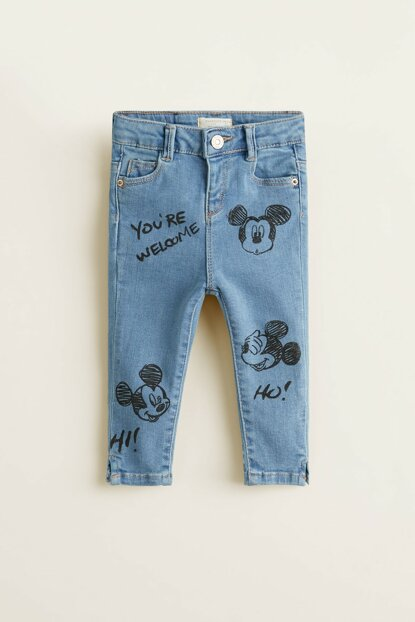 Medium Denim Baby Trousers 33040911