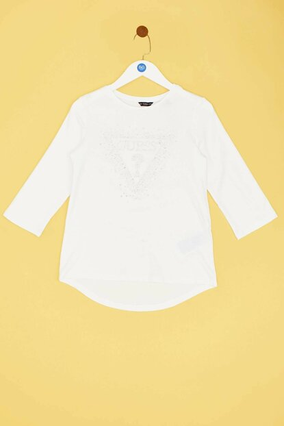 Girls' White T-Shirt 19FWGJ93I43