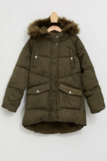 Hooded Inflatable Coat K9388A6.19WN.GN338