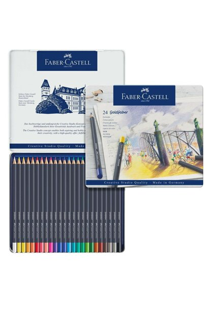 Goldfaber Dry Crayons 24 Colors 11 47 24