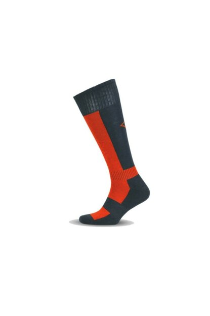 Rider Socks Riding Socks Gray Orange h2rsgt