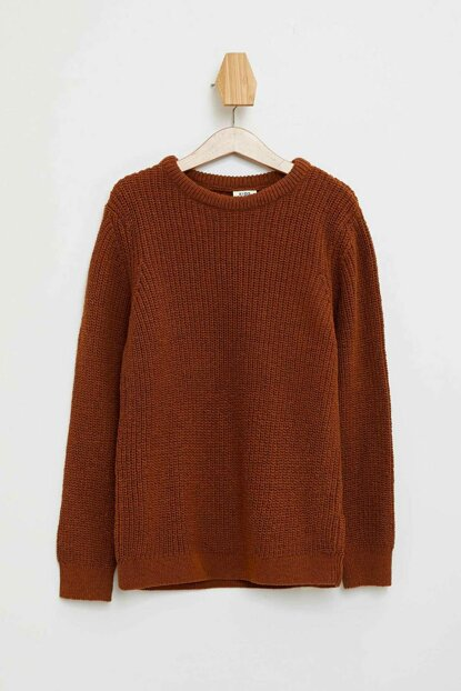 Bicycle Neckline Thessaloniki Knit Sweater L0500A6.19AU.BG592