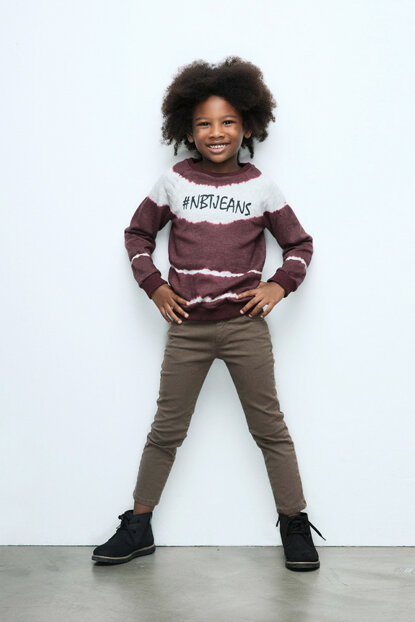 Boys Patterned Trousers 17FW0NB3219