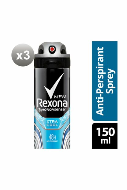 Men Deodorant Spray Xtra Cool 150 ml X3 SET.UNİ.126 View larger image