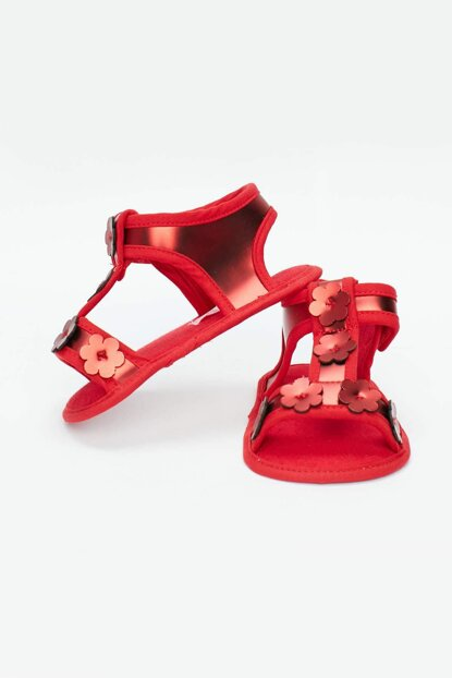 Baby Girl's Red Booties 19SS0BG2016