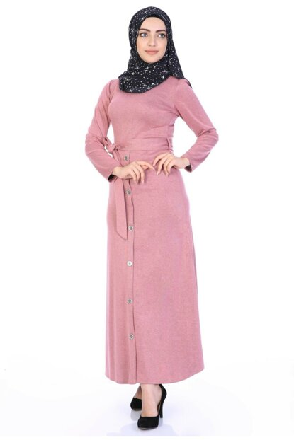 Buttoned Front Dress 3700/145