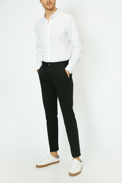 Men's Black Trousers 0KAM42821BW