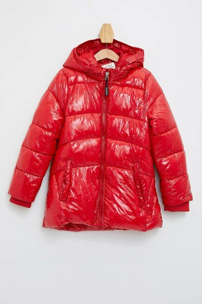 Letter Printed Inflatable Coat L0870A6.19WN.RD57
