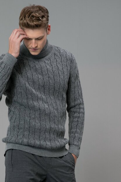 Men's Fred Pullover Gray 112090034100150