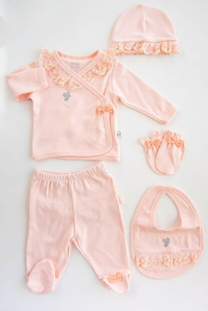 Salmon Baby Girl Suit 5 Li Hospital Outlet ABKLUWY3