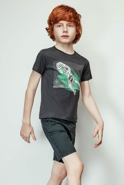 Boys Anthracite T-Shirt 19SS2NB3567