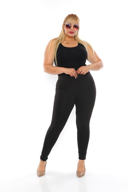 High Arched Steel Fabric Winter Leggings DSN1036