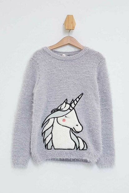 Printed Sweater Pullover K9577A6.19WN.GR296