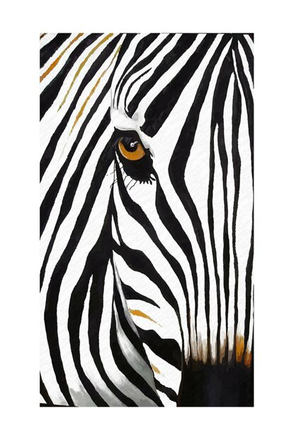 Digital Printed Carpet with Zebra Pattern RSP000177