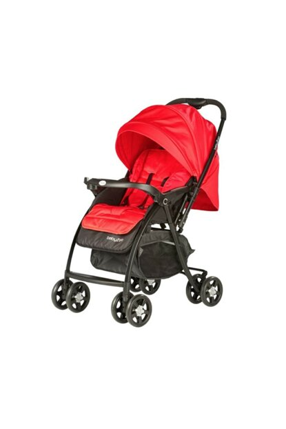 Bidirectional Baby Stroller - red 8697028602112