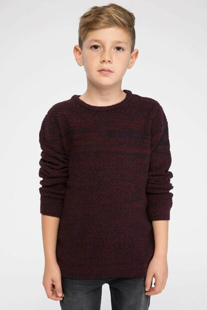 Bordeaux Young Man Sweater Pullover I9093A6.18AU.BR196