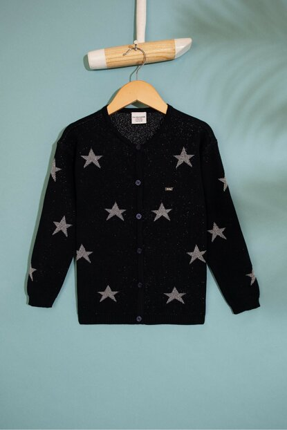 Lacivert Girl Kids Taylor Sweater Hirka G084SZ0TH.000.817720