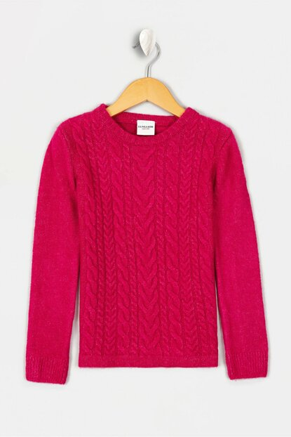 Pink Girl's Sweater Sweater
