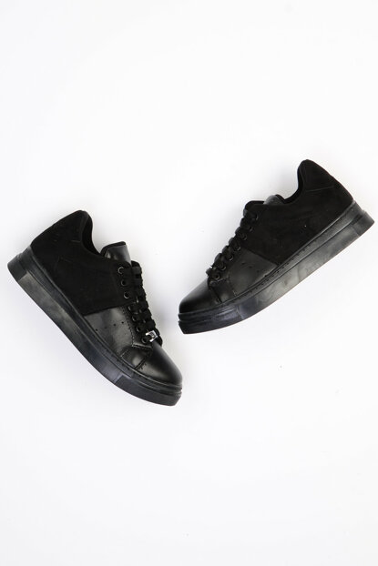 Black Suede Women Casual Shoes G0442600809