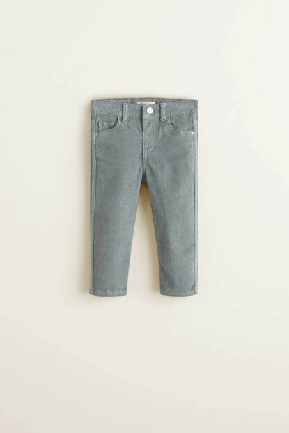 Gray Baby Girl Pants 33057646