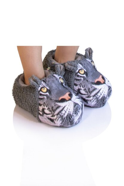 Gray Male Animal Slipper NN0429A