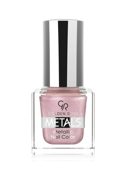 Metallic Nail Polish - Metals Metallic Nail Color No: 105 8691190779054 OMNC