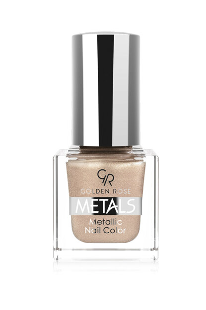 Metallic Nail Polish - Metals Metallic Nail Color No: 106 8691190779061 OMNC